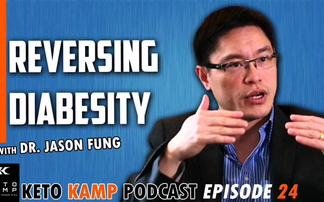 Dr. Jason Fung – Diabetes, Obesity, Intermittent Fasting, & The Calories Debacle – KKP 24